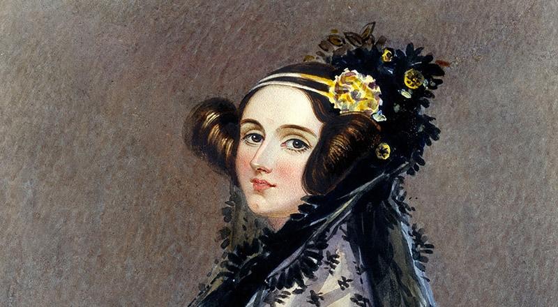 Portrait of Ada Lovelace circa 1840