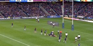CodeClan logo at Murrayfield
