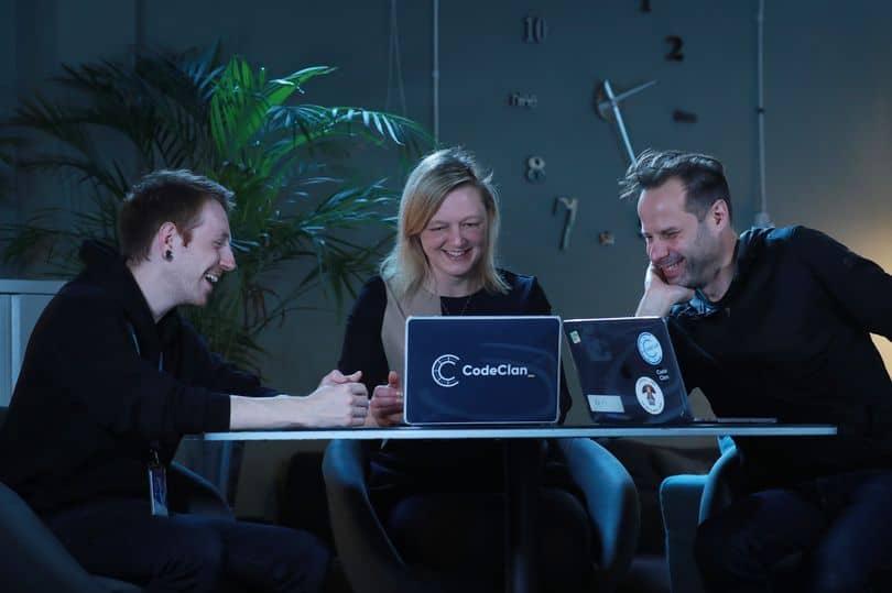 Three CodeClan instructors