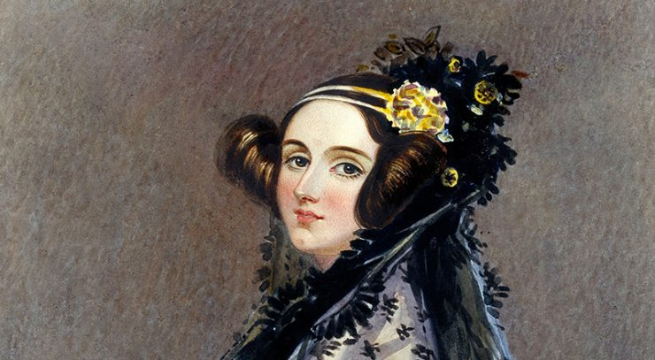 Portrait of Ada Lovelace circa 1840