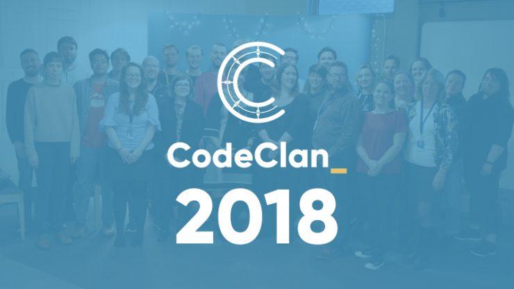 CodeClan team photo in 2018