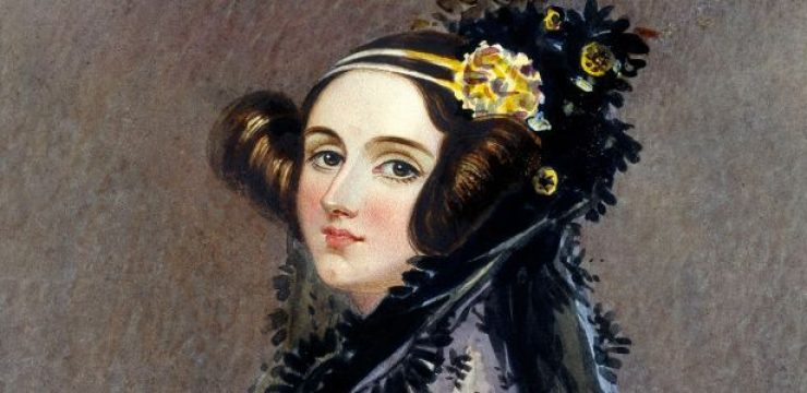 Painted portrait of Ada Lovelace
