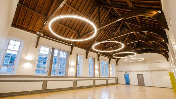 Wasps Inverness Creative Academy interior view