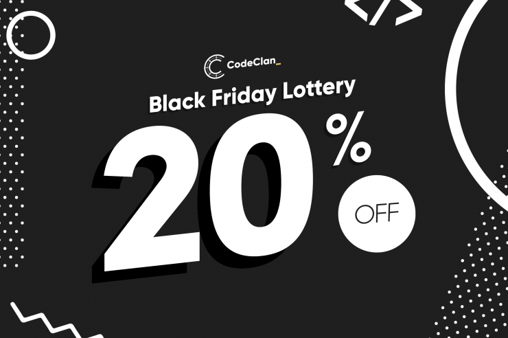 Black Friday Lottery 20% off
