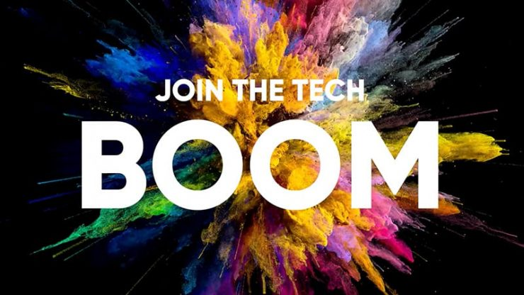 Join the tech boom